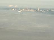 Flying into Atlanta.